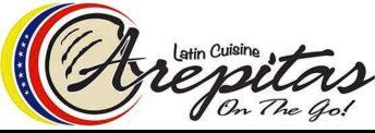 Arepitas on the Go logo